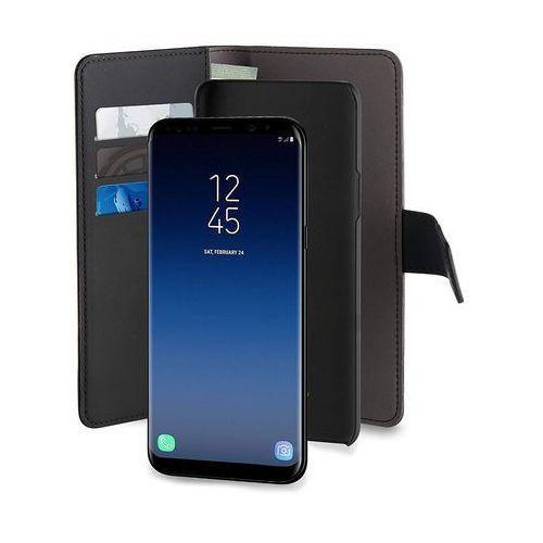 PURO Wallet Detachable - Etui 2w1 Samsung Galaxy S9+ (czarny) (8033830258671)