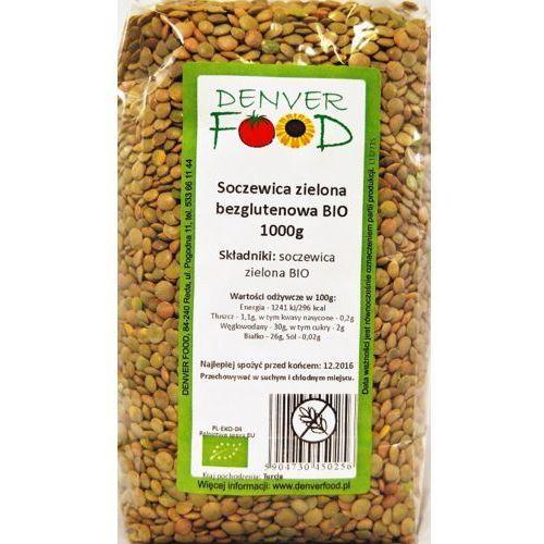 Soczewica Zielona Bezglutenowa BIO 1 kg Denver Food, 5904730450256