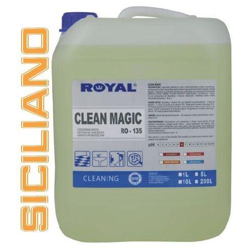 Royal Środek myjąco - dezynfekujący clean magic siciliano 5 l (5900537001318)