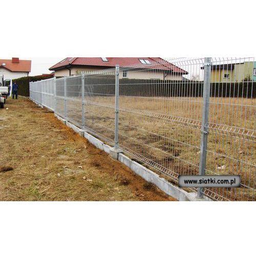 Panel ogrodzeniowy ocynkowany 4W-1600 mm z drutu 5 mm ze sklepu Siatki Janowski