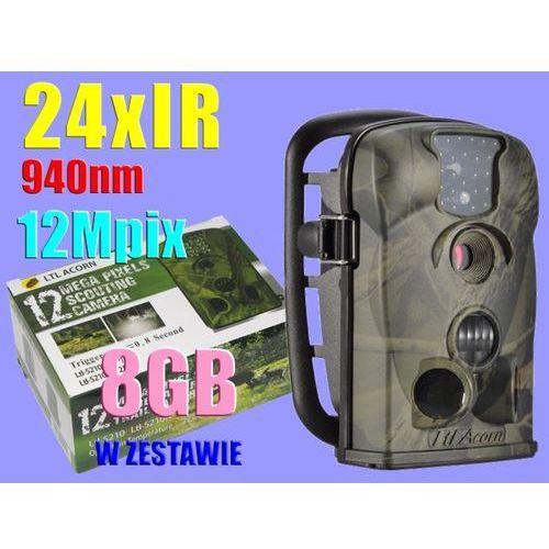 KAMERA LEŚNA FOTOPUŁAPKA 24xIR 940nm 12MPix +8GB - produkt dostępny w Sklep Szpiegowski