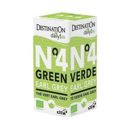 Herbata Zielona Earl Grey 20x2g - Destination