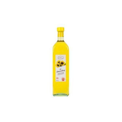 Olej słonecznikowy tłoczony na zimno nieoczyszczony 1l marki Olvita