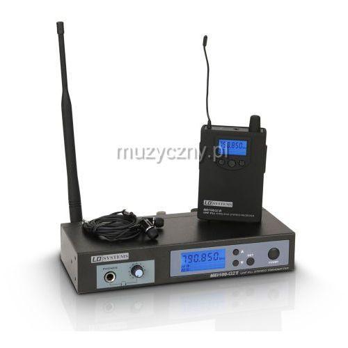 LD Systems MEI100G2 B6 bezprzewodowy, douszny system monitorowy 655-679 MHz