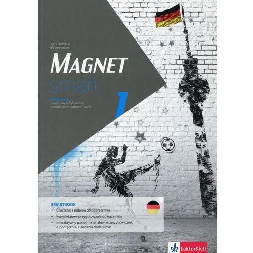 Magnet smart 1 Smartbook + DVD Rozszerzony zeszyt ćwiczeń z interaktywnym pakietem ucznia, praca zbiorowa