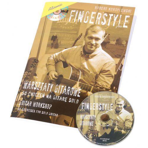 AN Kordylewski Robert ″Fingerstyle″ 50 ćwiczeń na gitarę solo + CD