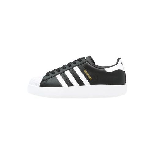 adidas Originals SUPERSTAR BOLD Tenisówki i Trampki core black/white/gold metallic (4057284047159)