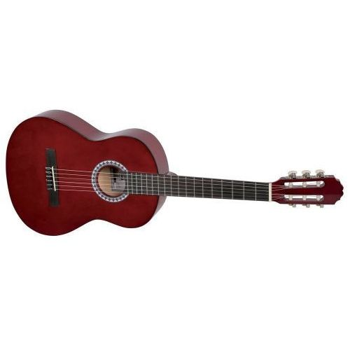 (ps510123) gitara koncertowa vgs basic 1/2 transparentna czerwień marki Gewa
