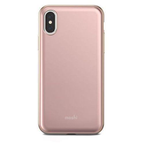 Moshi iglaze - etui iphone x (pink) (4713057252549)