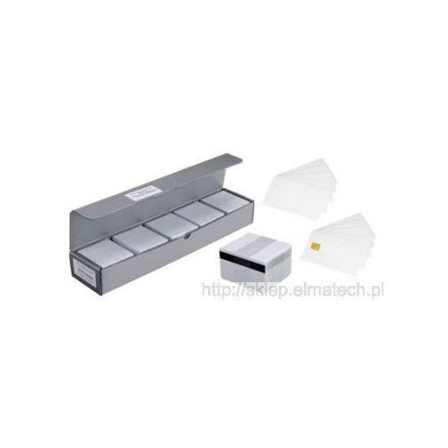 Zebra premier card - bez paska magnetycznego, biała, 500 szt, 10mil, 104523-210