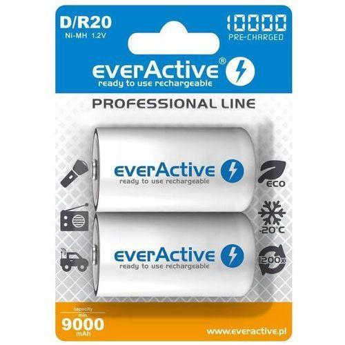 Akumulatorki D/R20 everActive Professional Line 10000 mAh 2 sztuki (5902020523406)