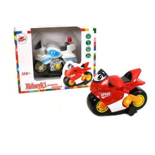 BRIMAREX Motocykl z funkcjami (1569059) (motor zabawka) od Puchatkolandia.pl
