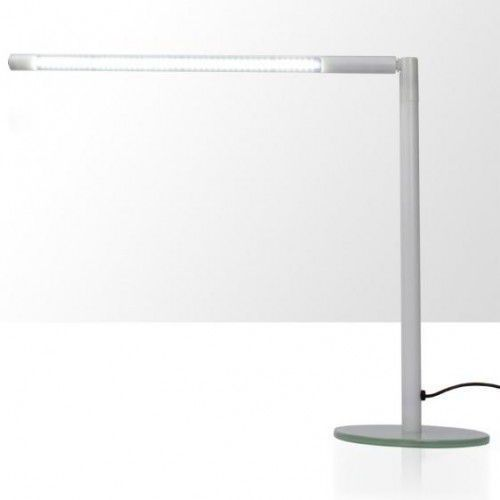 Lampka na biurko LED 4W - rurka - biała