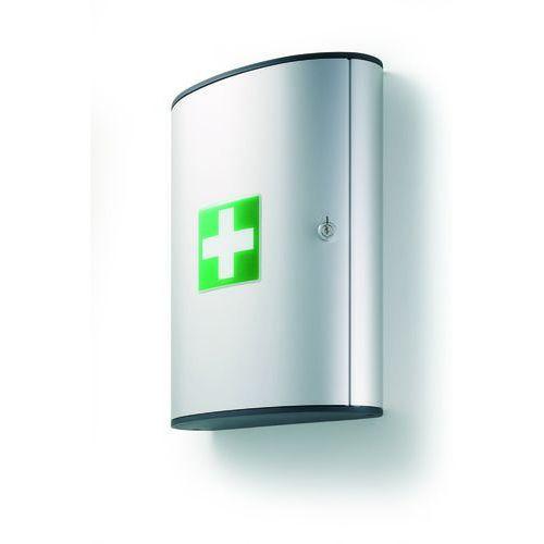 Apteczka bez wyposażenia duża L srebrna,FIRST AID BOX L DURABLE (4005546104041)