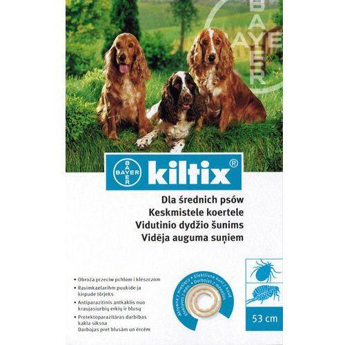 Bayer Kiltix Obroża dla średnich psów dł. 53cm* - oferta [85984b7a3745c77c]