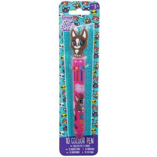Długopis 10-cio kolorowy Littlest Pet Shop
