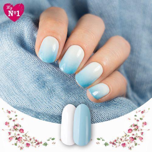 Wzorki na paznokcie myno1 wiosenne ombre marki My no1