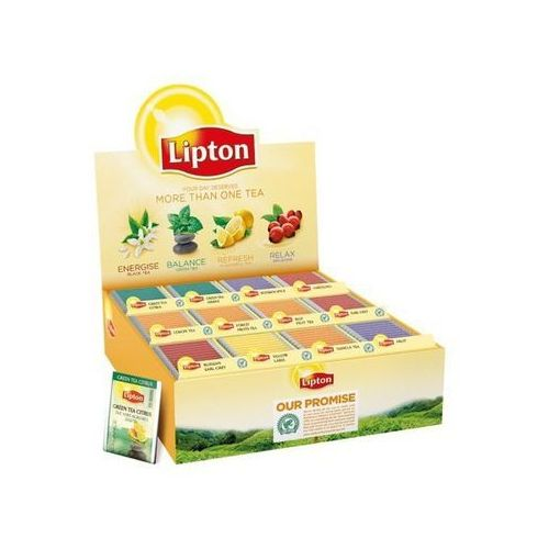 Lipton variety pack 12 rodzajów, koperta 180 szt.
