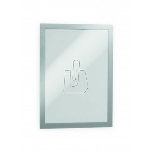 Durable Ramka informacyjna duraframe a4 srebrna 2 szt. 4872-23 (4005546404882)