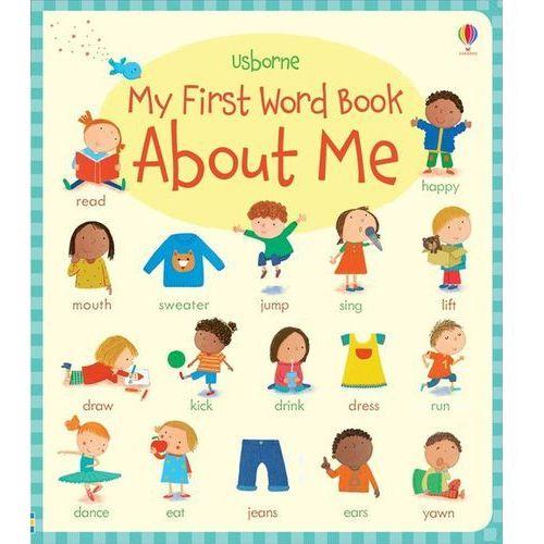 My First Word Book About Me, oprawa twarda