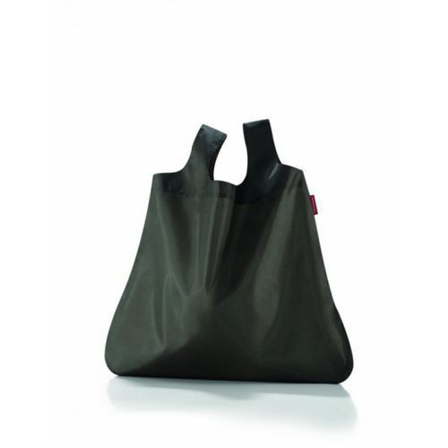 Siatka mini maxi shopper dark olive