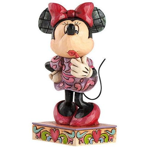 Myszka mini mouse i szminka 4031476 bajki disney marki Jim shore