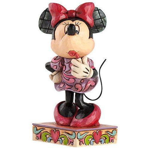 Myszka mini mouse i szminka 4031476 bajki disney marki Jim shore