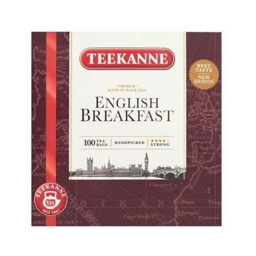 TEEKANNE 100x2g English Breakfast Mieszanka herbat czarnych