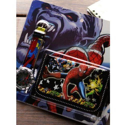 Disney Zestaw zegarek portfel spiderman mickey mouse 2018
