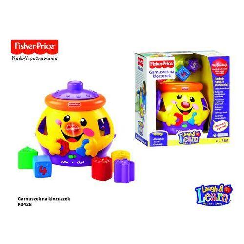 Fisher Price Garnuszek na klocuszek z kategorii zabawki edukacyjne