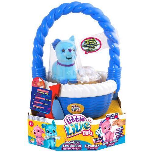 Cobi Little Live Pets 28153 Piesek w koszyku, niebieski - sprawdź w Mall.pl