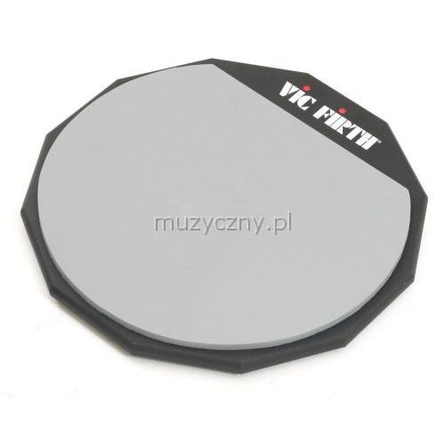 Vic Firth PAD12D 12″ pad do ćwiczeń (2-stronny)