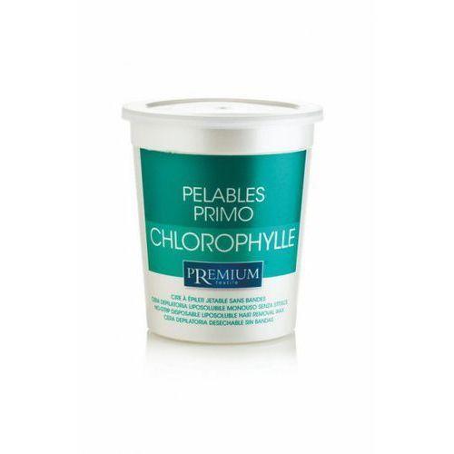 Bezpaskowy wosk do depilacji z clorofilla chlorofil 700g marki Premium textile