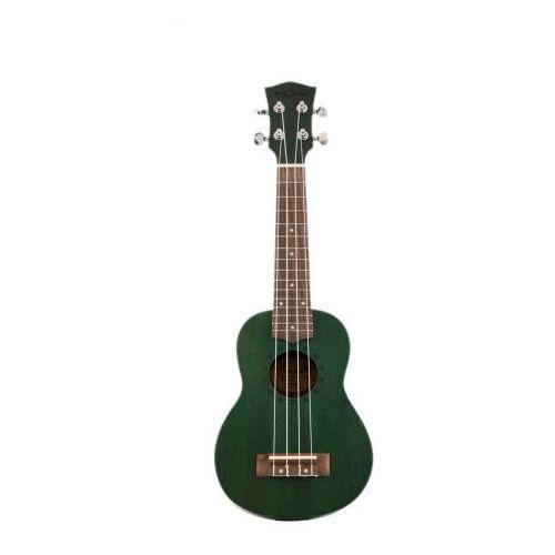 Fzone FZU-110S 21 Inch ukulele sopranowe szmaragdowa zieleń