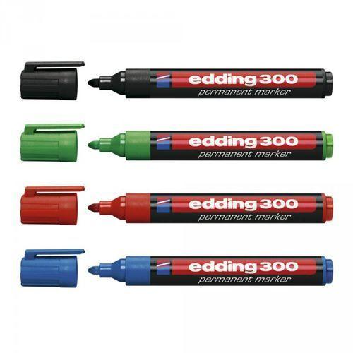 Marker permanentny 300, niebieski, okrągła - Super Cena - Autoryzowana dystrybucja - Szybka i tania dostawa