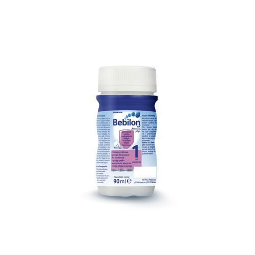 Bebilon HA 1 z Pronutra mleko modyfikowane w płynie RTF ZESTAW 24x90ml, BEBILON (Nutricia) z Apteka Dziecka