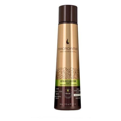 ultra rich moisture - nawilżający szampon do włosów grubych 100ml marki Macadamia