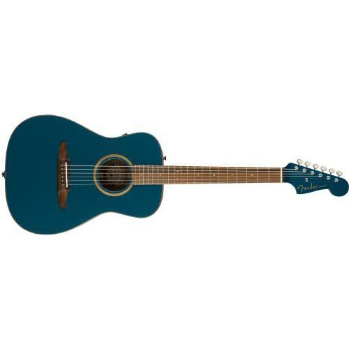 malibu classic, pau ferro fingerboard, cosmic turquoise w/bag gitara elektroakustyczna marki Fender