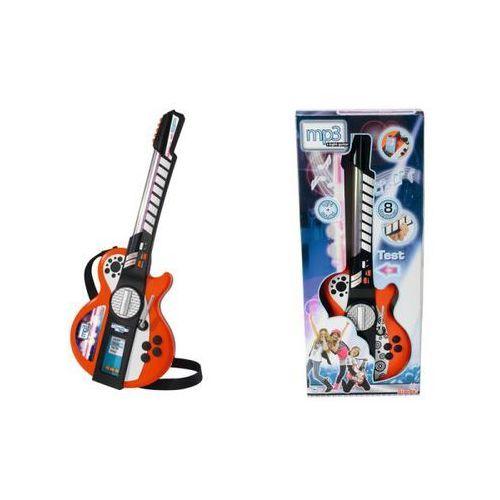 Gitara z efektami świetlnymi mp3 - darmowa dostawa od 199 zł!!! marki Simba