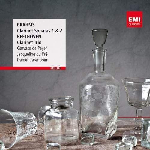 Peyer, gervase, jacqueline du pre, daniel barenboim - red line - clarinet sonatas / clarinet trio marki Warner music