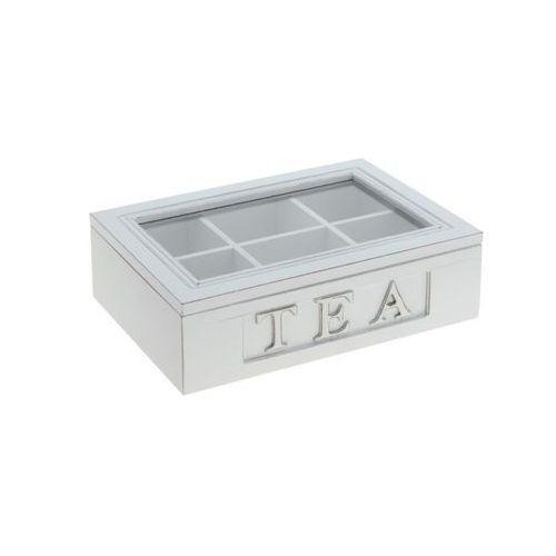 Drewniane pudełko na herbatę / gwarancja 24m / dostawa w 12h / najtańsza wysyłka! marki Thk