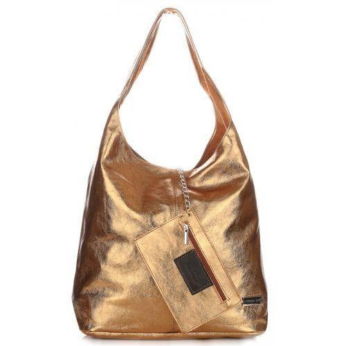 fdb923b23c916 Włoskie torby skórzane typu shopperbag xl od vittori gotti stare złoto  (kolory) marki Vittoria gotti 199,00 zł uwielbiasz błyszczeć w tłumie i  szukasz torby ...