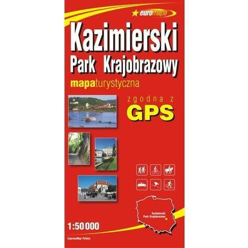 Kazimierski Park Krajobrazowy mapa 1:50 000 ExpressMap (9788360120118)