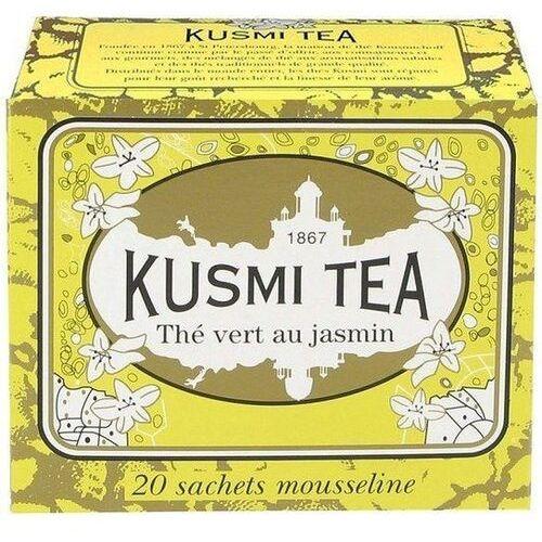 Kusmi Herbata zielona jaśminowa jasmine green tea 20 torebek (3585803000237)
