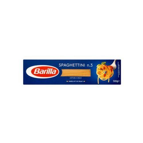 Barilla 500g spaghettini n.3 makaron | darmowa dostawa od 250 zł