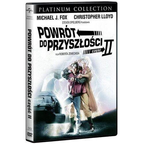 Powrót do przyszłości 2 platinum collection (płyta dvd) marki Universal music