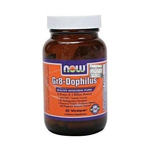 Gr8 Dophilus Gr-8 60 kapsułek NOW FOODS (5902729731911)