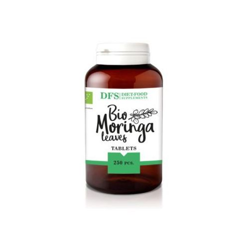 Super moringa tabletki (sproszkowane liście) 250 tabletek diet-food marki 154diet-food