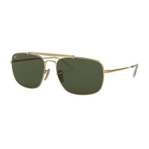 Ray-ban Rayban the colonel okulary przeciwsłoneczne goldcoloured