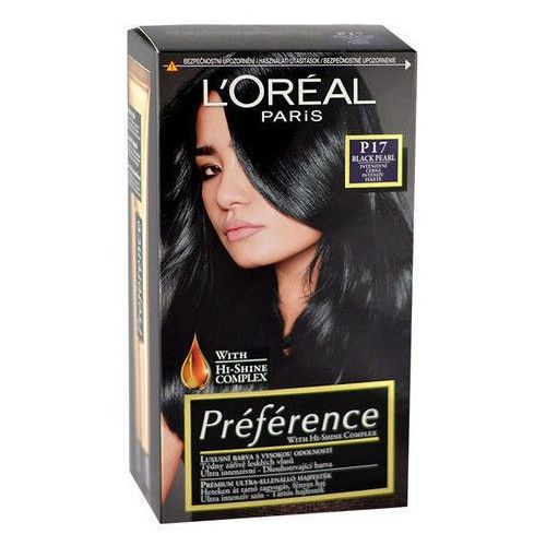 Préférence Féria Hair Colour 1szt W Farba do włosów P17 Black Pearl, L´Oreal Paris